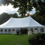 How To Decorate A Wedding Tent